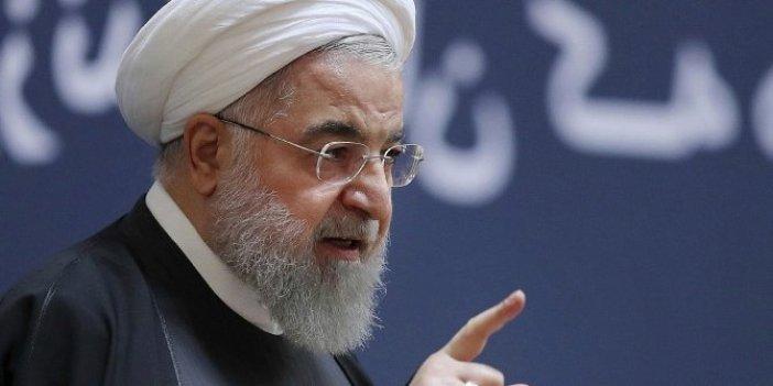 Ruhani'den Trump'a manidar cevap!