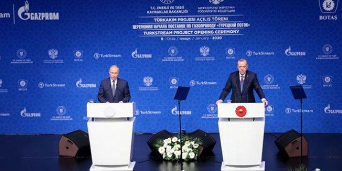 Recep Tayyip Erdoğan ve Vladimir Putin'den ortak açıklama