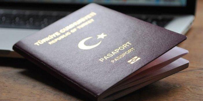 Türk pasaportunun değeri azaldı
