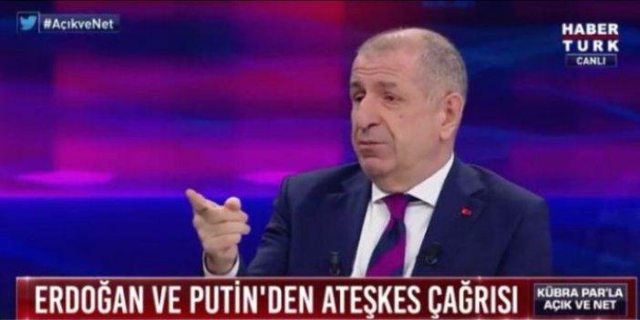 """Ümit Özdağ: """"Hafter, """"Doğu Akdeniz mutabakatını tanıyacağız"""" demişti"""""""