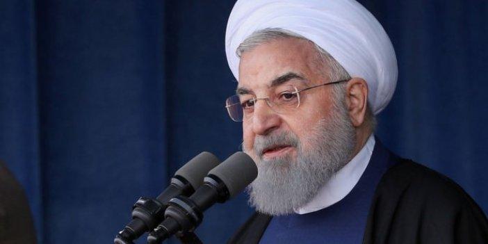 Ruhani'den Trump'a cevap