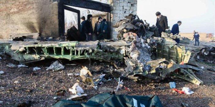 İran'da düşen uçakla ilgili çarpıcı açıklama