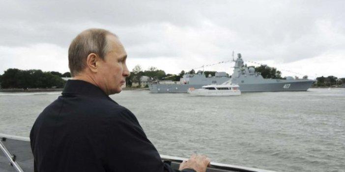 Putin ortak tatbikata katıldı