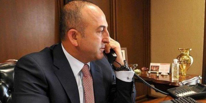 Bakan Çavuşoğlu'ndan kritik telefon görüşmeleri