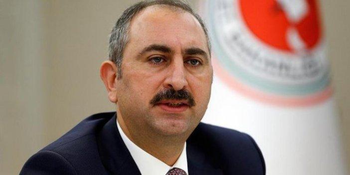 Adalet Bakanı kime mesaj  verdi: Yargı sadece hukukun emri altındadır
