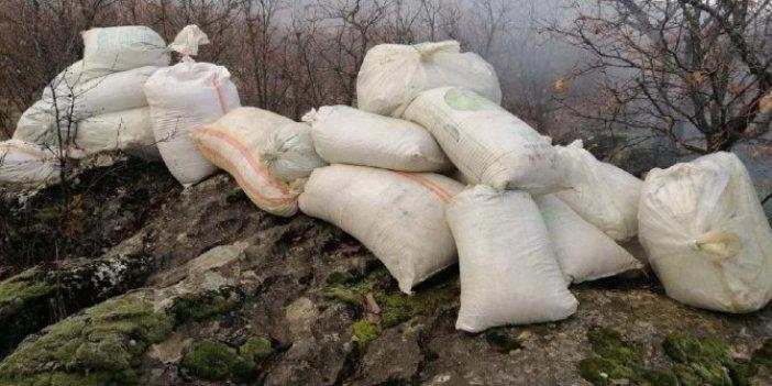 PKK'nın uyuşturucu deposu imha edildi