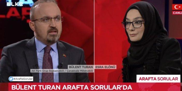 AKP'li Bülent Turan'dan partisine özgüven eleştirisi
