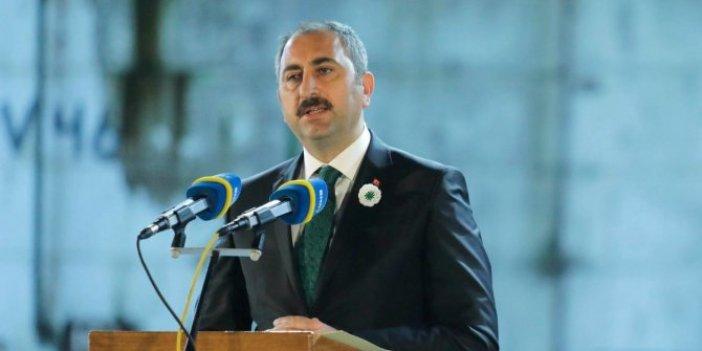 Adalet Bakanı açıkladı: Bütün duruşmalar iptal edildi!
