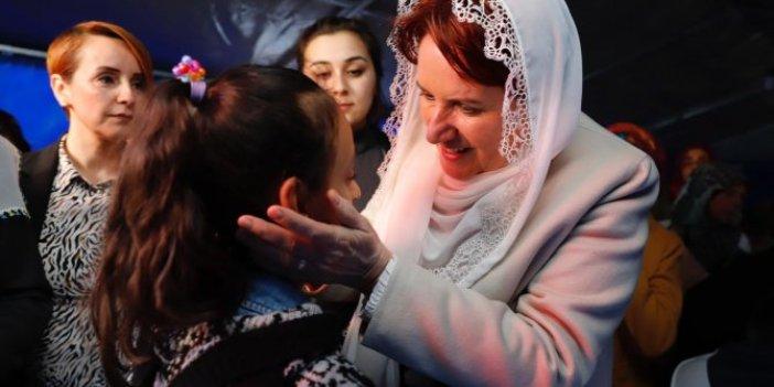 Meral Akşener'den şehit Halil Karakoç'un ailesine taziye ziyareti