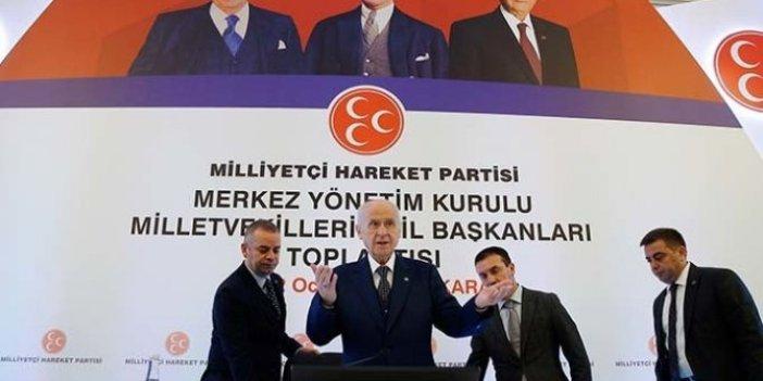 MHP Ankara'da toplandı
