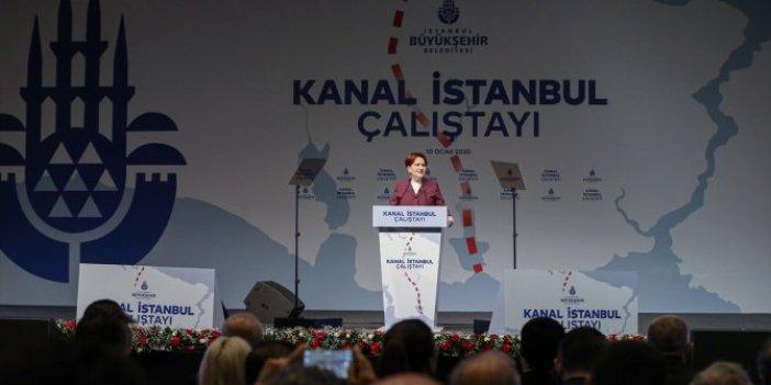 """Meral Akşener: """"Kanal İstanbul, vatandaşa ceza kesiliyor"""""""