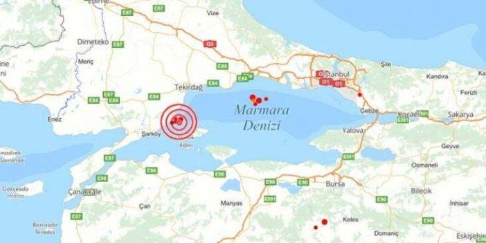 Marmara için 'deprem fırtınası' uyarısı