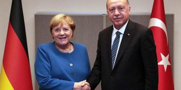 Tayyip Erdoğan, Merkel ile görüştü