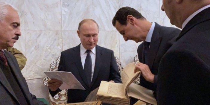 "Putin: ""Trump'ı Şam'a davet edin"""