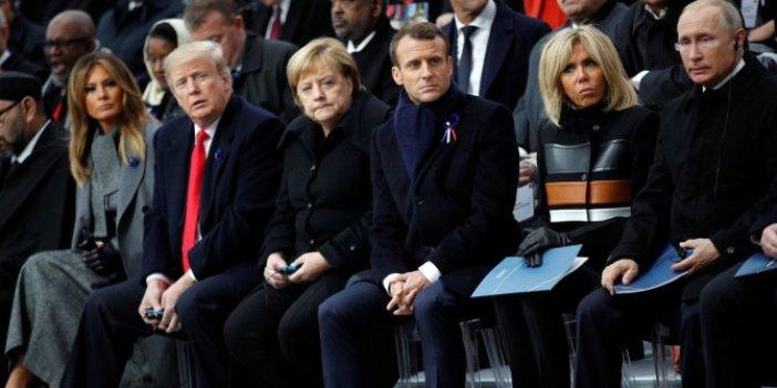 Anket sonuçları açıklandı! Trump, Putin, Merkel, Macron...