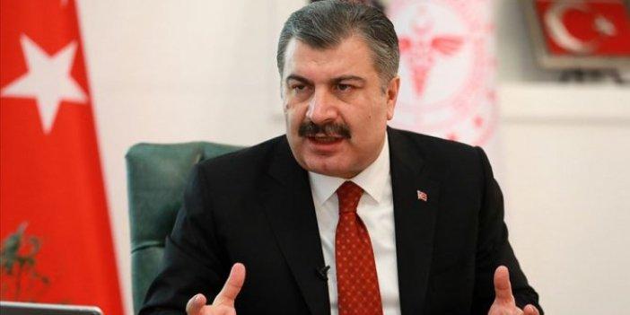 Sağlık Bakanı Koca'dan anestezi ilacı açıklaması