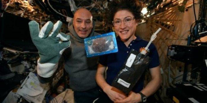 Uzayda pişirilen ilk yiyecek!