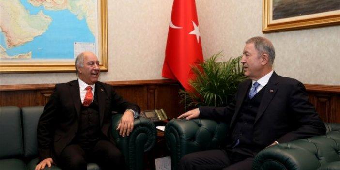 Bakan Akar, Irak'ın Ankara Büyükelçisi'ni kabul etti