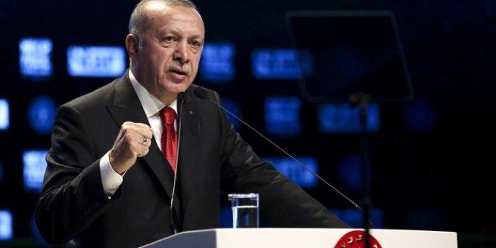 """Tayyip Erdoğan: """"Kanal İstanbul'u çok yakında başlatıyoruz"""""""