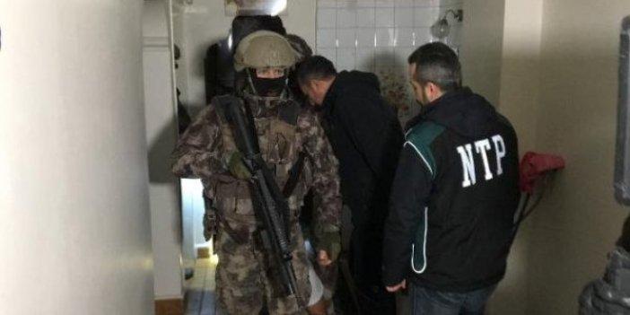 700 polisle uyuşturucu operasyonu