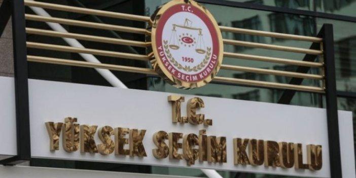YSK önergesine AKP ve MHP engeli