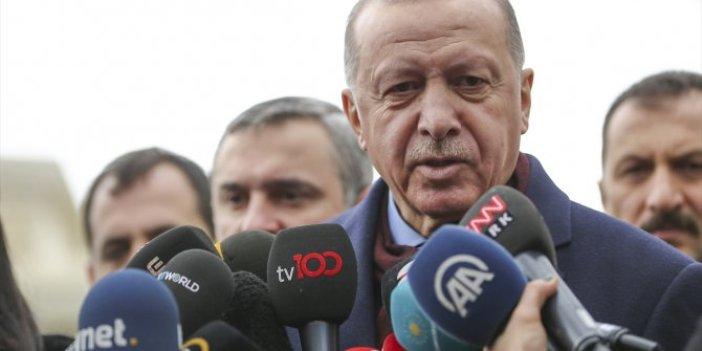Recep Tayyip Erdoğan'dan mektup açıklaması