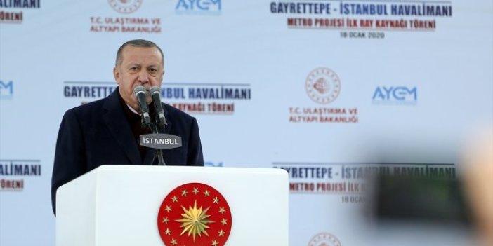 Tayyip Erdoğan'dan Kanal İstanbul çıkışı