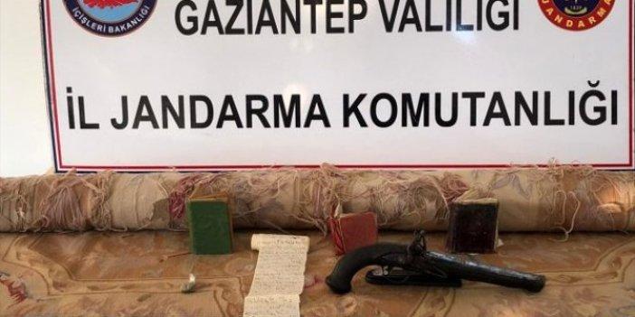 Gaziantep'te tarihi eser kaçakçılığı operasyonu
