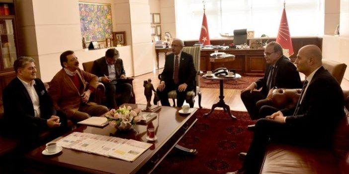 Kemal Kılıçdaroğlu TOGG heyetini kabul etti
