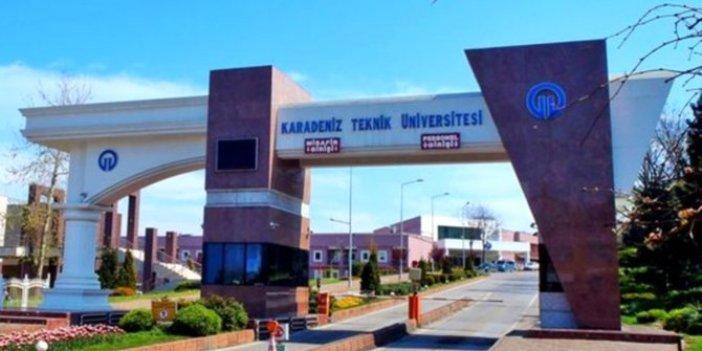 KTÜ'de 'aile saadeti' iddiaları