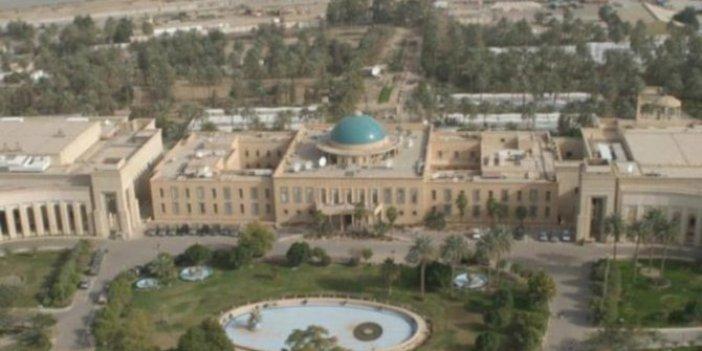 Bağdat'ta diplomatik bölgeye 3 roket düştü