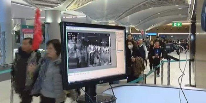 İstanbul Havalimanı'nda Corona virüsü paniği