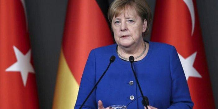 Merkel'den Elazığ için taziye mesajı