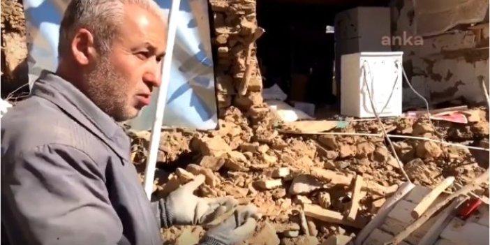 Deprem mağduru vatandaştan çarpıcı sözler!