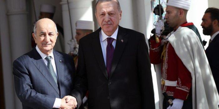 Cumhurbaşkanı Tayyip Erdoğan Cezayir'de
