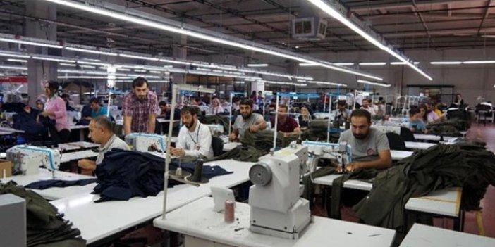 Suriyeli sığınmacılar tekstil sektörünü vurdu!