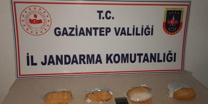 Gaziantep'te sentetik uyuşturucu ele geçirildi