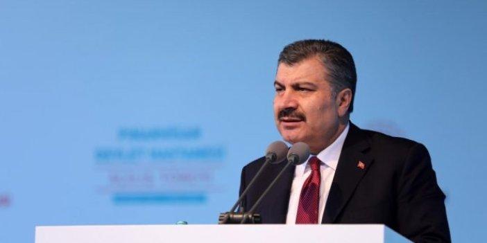 Sağlık Bakanı Fahrettin Koca'dan coronavirüs açıklaması