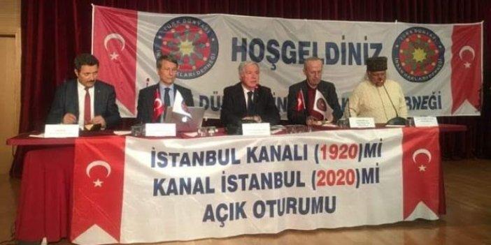 Türk Dünyası İnsan Hakları Derneği'nden Kanal İstanbul paneli
