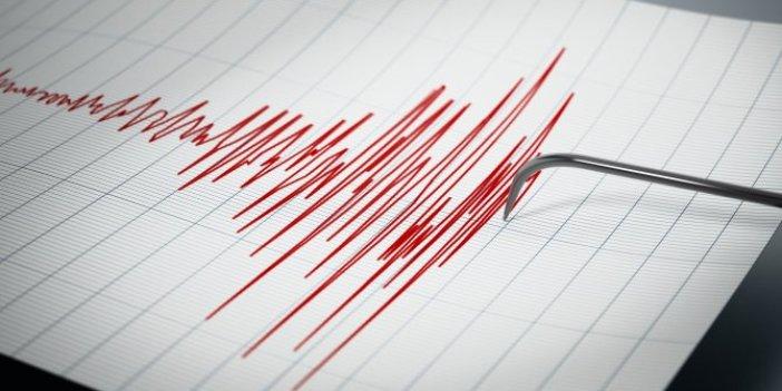 Marmaris açıklarında 5.4 büyüklüğünde deprem