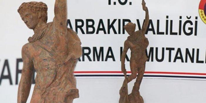 Diyarbakır'da ele geçirildi! Roma dönemine ait
