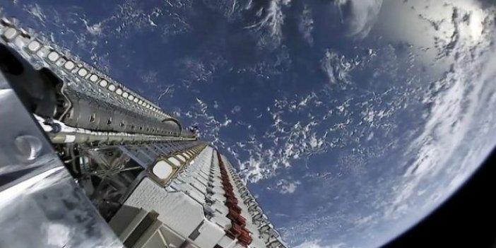 SpaceX, 60 uydu daha uzaya fırlatıldı