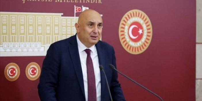 """CHP'li Engin Özkoç: """"Tayyip Erdoğan, Kızılay ve ENSAR'ın hamiliğini yapıyor"""""""