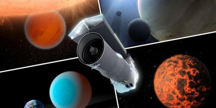 NASA, Spitzer teleskobuna veda etti