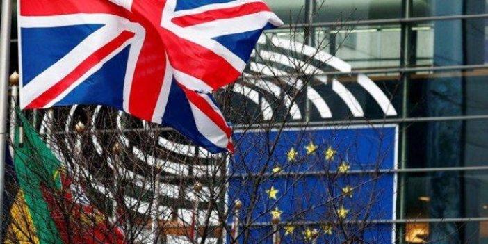 İngiliz bayrakları Avrupa Birliği kurumlarından indirildi