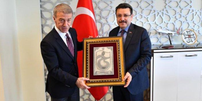 Ortahisar Belediye Başkanı Ahmet Genç'ten Fenerbahçelileri kızdıracak açıklama