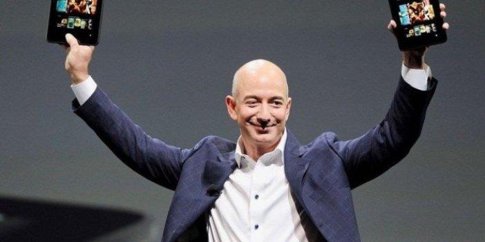Amazon'un kurucusu bir günde servetini sekiz milyar dolar artırdı