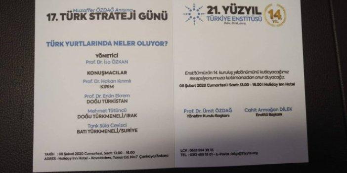 """""""Türk Yurtlarında Neler Oluyor?"""""""