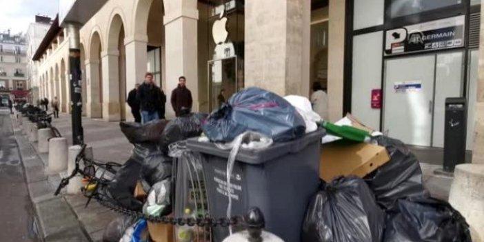 Fransa'da çöp toplayıcıları grevde