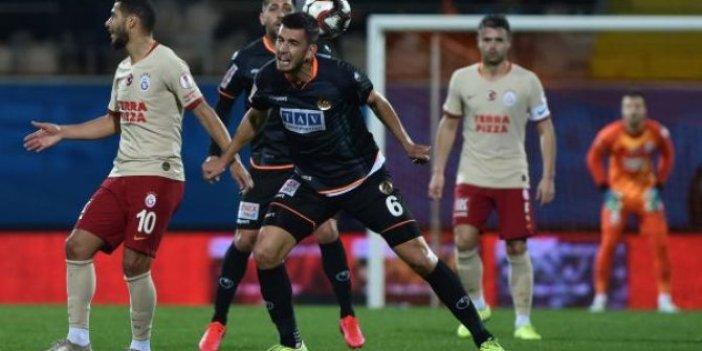 Galatasaray Alanya'da kayıp